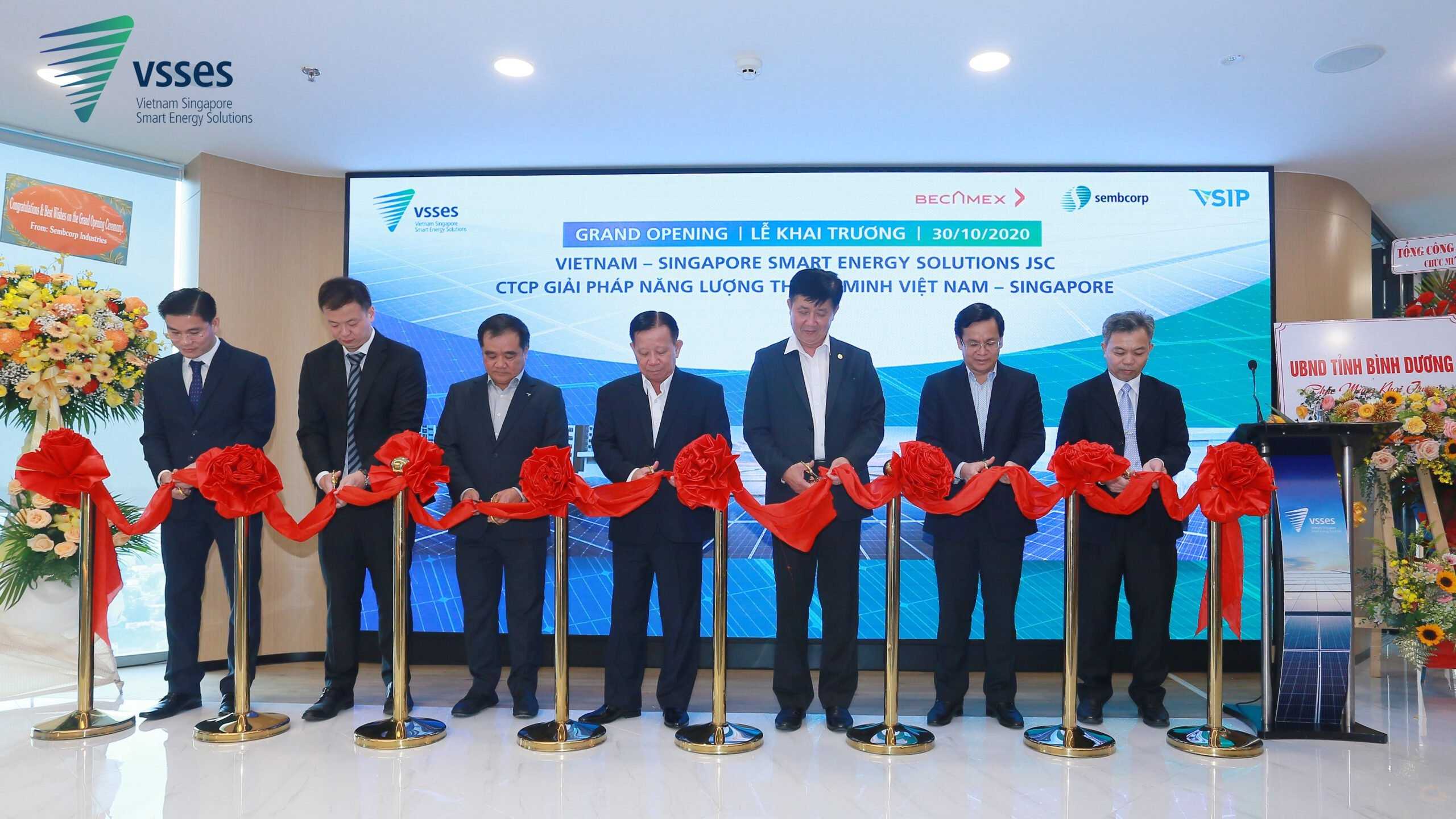 Sustainable Smart Energy Solutions Provider VietNam – Singapore Smart Energy Solutions (VSSES) Opens Headquarters