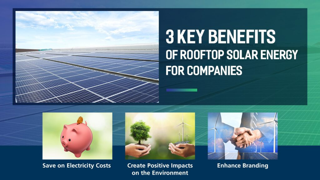 3 key benefits of rooftop solar energy for companies